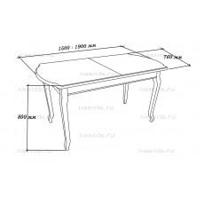 Стол обеденный МКС 19-814 БЯ