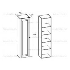 Шкаф бельевой однодверный МКС 144-06 БЯ