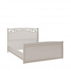 Кровать КР-7 (с кованым элементом по углам с изножьем) БЯ