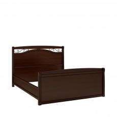 Кровать КР-7 (с кованым элементом по углам с изножьем) НН