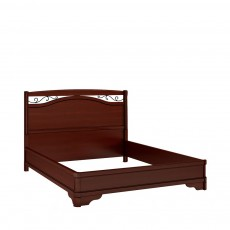 Кровать КР-7 (с кованым элементом по углам без изножья) ОМТ
