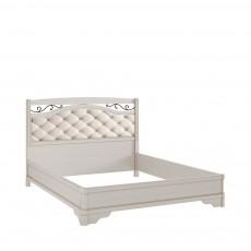 Кровать КР-7 +вставка (с кованым элементом по углам без изножья) БЯ
