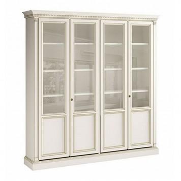 Библиотека 4х дверная Bianco