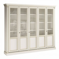Библиотека 5х дверная Bianco